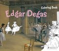 Coloring Book Edgar Degas