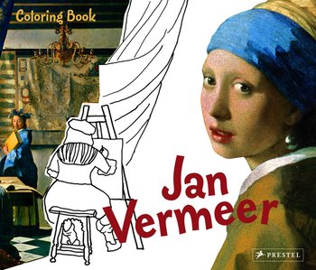 Colouring Book Jan Vermeer