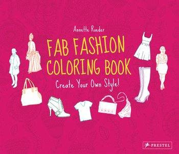 Fab Fashion Coloring Book