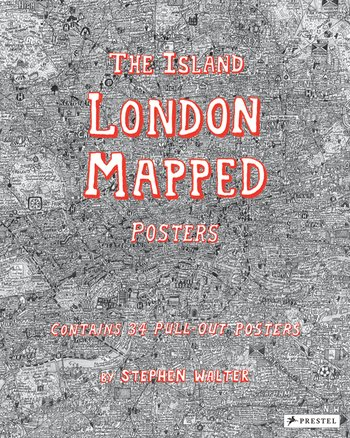 The Island: London Mapped Posters