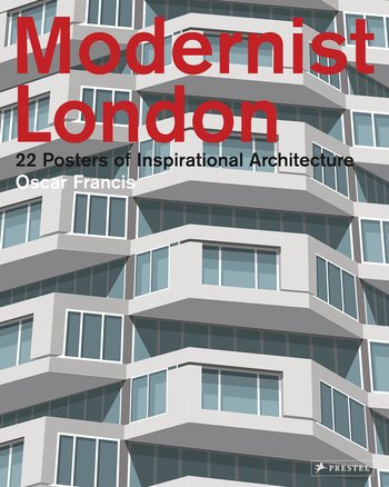 Modernist London: 22 Posters of Iconic Architecture