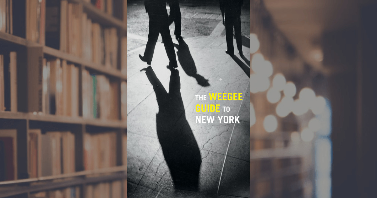 The Weegee Guide To New York Prestel Publishing Paperback
