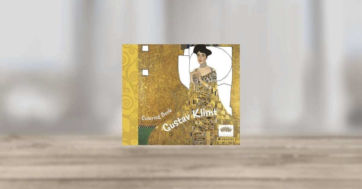 Coloring Book Gustav Klimt. Prestel Publishing (Paperback)