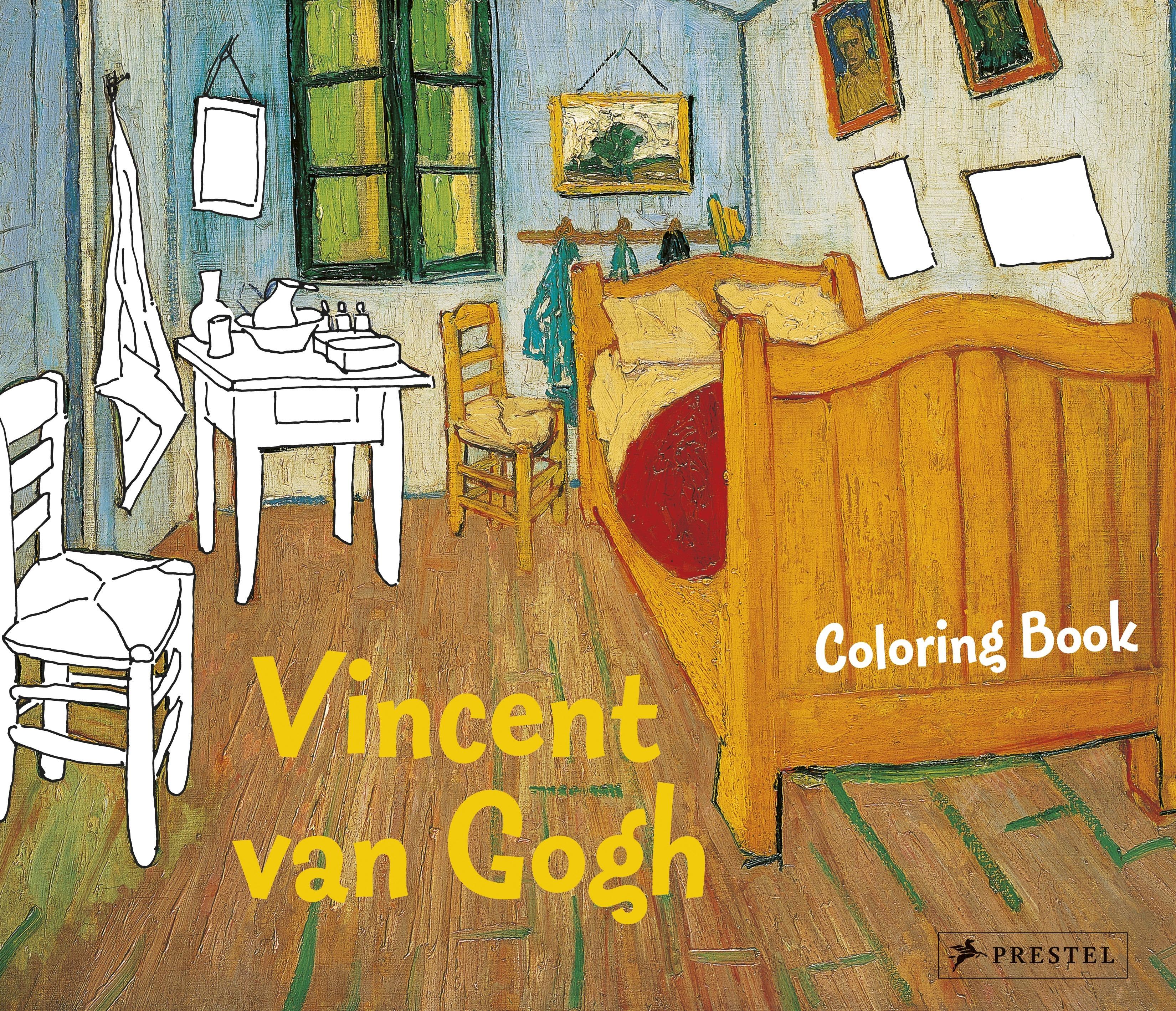 Annette Roeder: Coloring Book Vincent van Gogh. Prestel Publishing ...